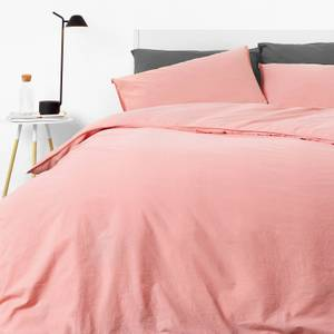 in homeware Washed Cotton Duvet Set - Blush