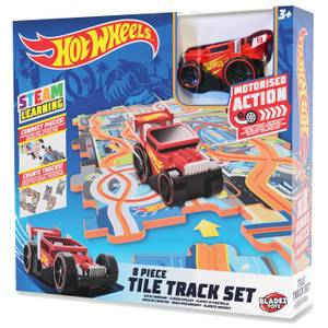 Hot Wheels Puzzleteil-Bahn Set