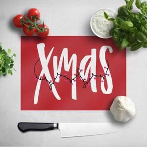 Xmas Chopping Board