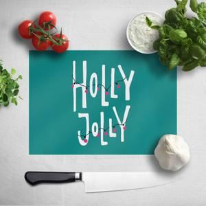 Holly Jolly Chopping Board