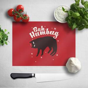 Bah Humbug Chopping Board