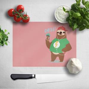 Sloth Chill Chopping Board
