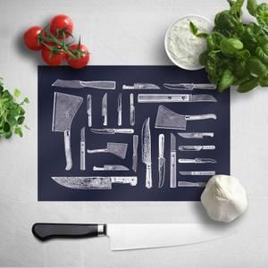 Knifes Chopping Board