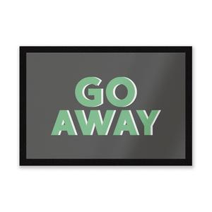 Go Away Entrance Mat