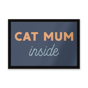Cat Mum Inside Entrance Mat