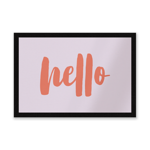 Hello Entrance Mat