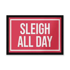 Sleigh All Day Entrance Mat