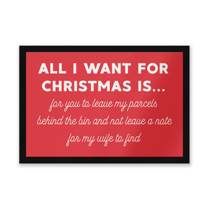 All I Want for Christmas... Entrance Mat