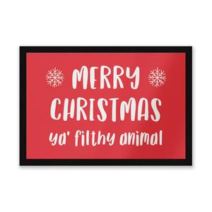 Merry Christmas Ya' Filthy Animal Entrance Mat
