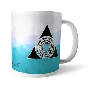 Taza Magic The Gathering GOR Fractal Azorius