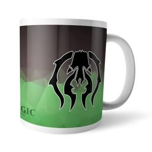 Magic The Gathering GOR Fractal Golgari Mug