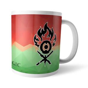 Taza Magic The Gathering GOR Fractal Gruul