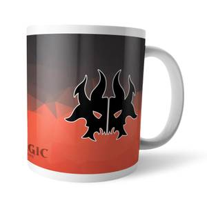 Magic The Gathering GOR Fractal Rakdos Mug
