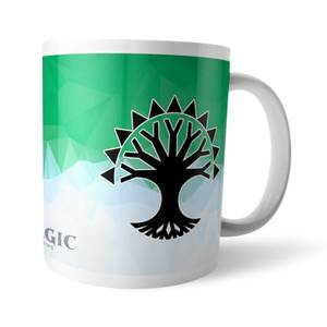 Magic The Gathering GOR Fractal Selesnya Mug