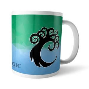 Magic The Gathering GOR Fractal Simic Mug