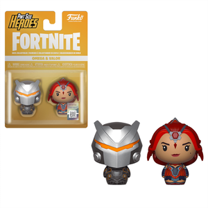 Lots de 2 Mini Figurine Pint Sized Heroes Funko -Omega & Valor