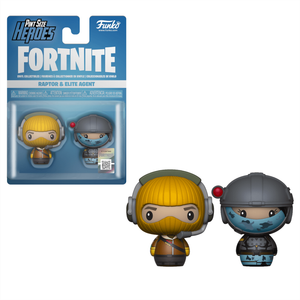 Funko Fortnite Pint Size Heroes Raptor and Elite Agent 2-Pack