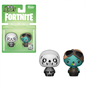 Lots de 2 Mini Figurine Pint Sized Heroes Funko - Skull Trooper & Ghoul Trooper
