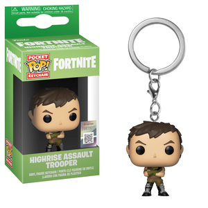 Pop! Keychain Highrise Assault Trooper - Fortnite