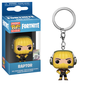 Pop! Keychain Raptor Fortnite