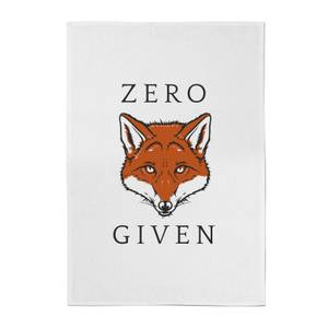 Zero Fox Given Cotton Tea Towel