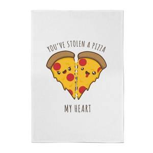 You've Stolen A Pizza My Heart Cotton Tea Towel