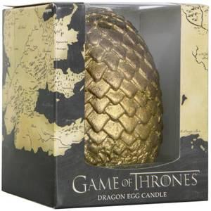 Game of Thrones Geformte Kerze Ei - Gold