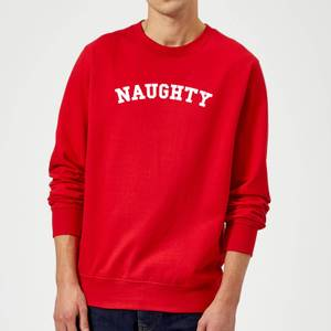 Naughty Christmas Sweatshirt - Red