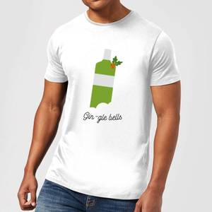 Gin-gle Bells Men's Christmas T-Shirt - White
