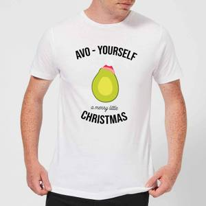 Avo-Yourself A Merry Little Christmas Men's Christmas T-Shirt - White