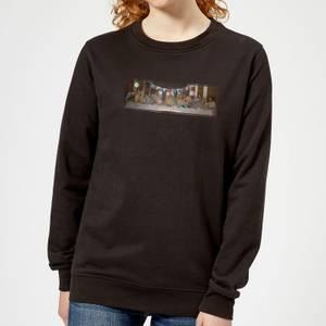 Happy Birthday, Jesus Women's Christmas Sweatshirt - Black