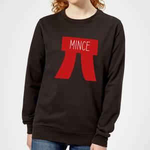 Mince Pi Women's Christmas Sweatshirt - Black
