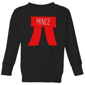 Mince Pi Kids' Christmas Sweatshirt - Black