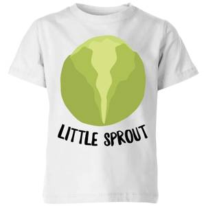 Little Sprout Kids' Christmas T-Shirt - White