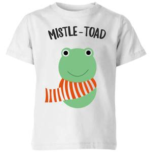 Mistle-Toad Kids' Christmas T-Shirt - White