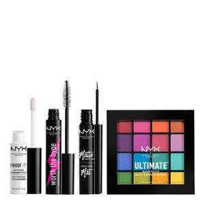 NYX Professional Makeup Worth the Hype Ultimate Brights Eye Kit (Worth £38.00)