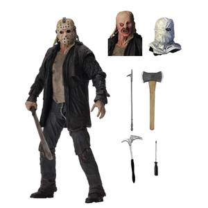 "NECA Friday the 13th - 7"" Action Figure - Ultimate 2009 Jason"