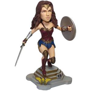 Statuetta Bobblehead di Wonder Woman, da Justice League, DC Comics, FOCO, 20 cm