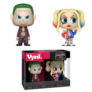 Vynl. Suicide Squad Joker & Harley Quinn
