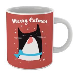 Merry Catmas Mug