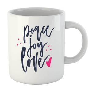 Peace Joy Love Mug