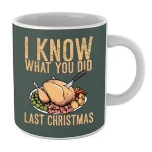 I Know What You Did Last Christmas Mug