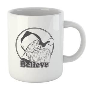 Believe Grey Mug
