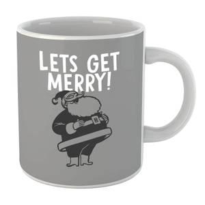 Lets Be Merry Mug