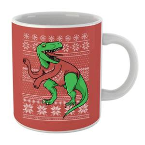T-Rex Sleeves Mug