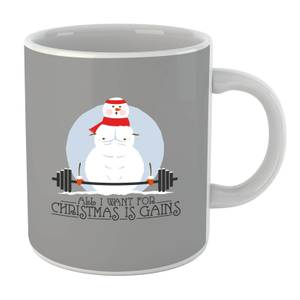 All I Want for Christmas Is Gains Mug