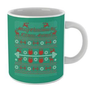 Merry Christmas Ya' Fitness Animal Mug