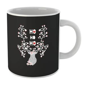 Ho Ho Ho Reindeer Mug