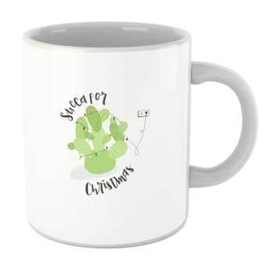 Succa for Christmas Mug