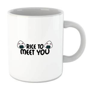 Rice To Meet You Mug